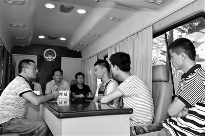 该院特色机关党建项目《流动的红色法庭——晋江法院