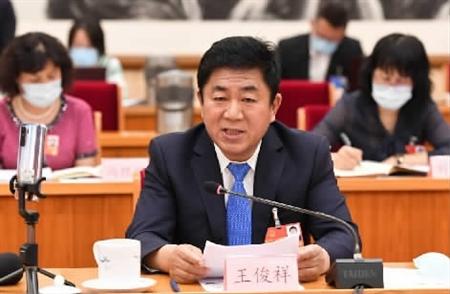 全国人大代表王俊祥议人民法院工